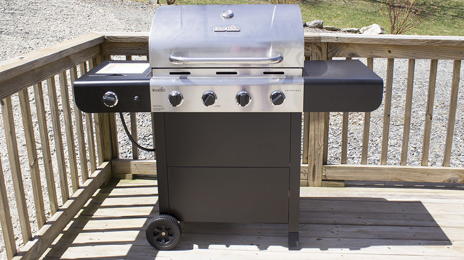 Grill on Lower Deck