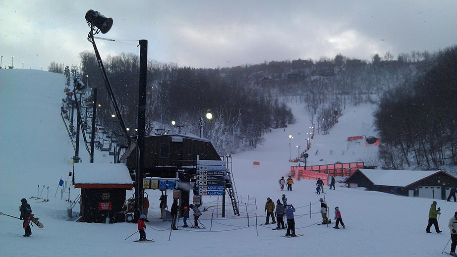 One mile from Appalachian Ski Mountain