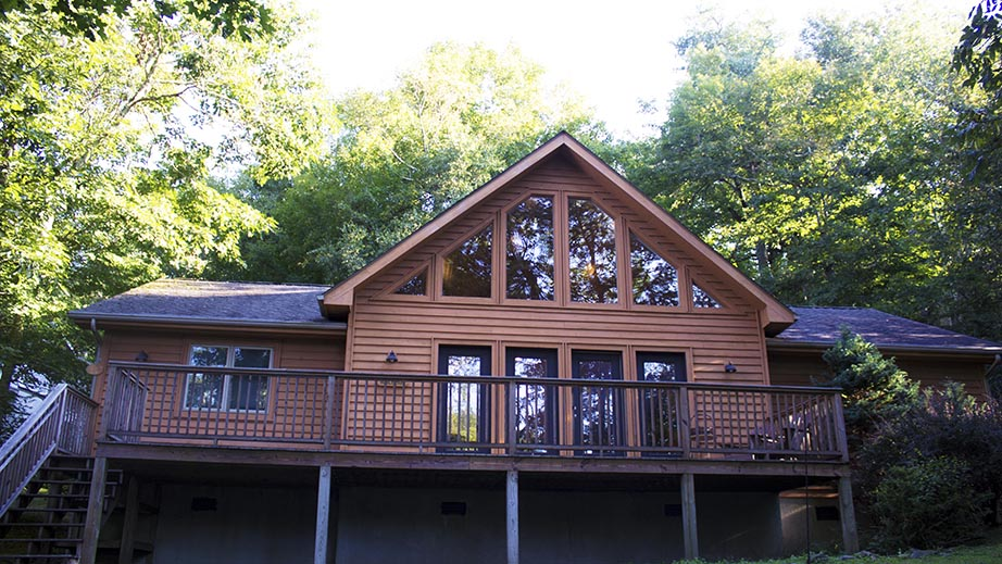 view of front of home