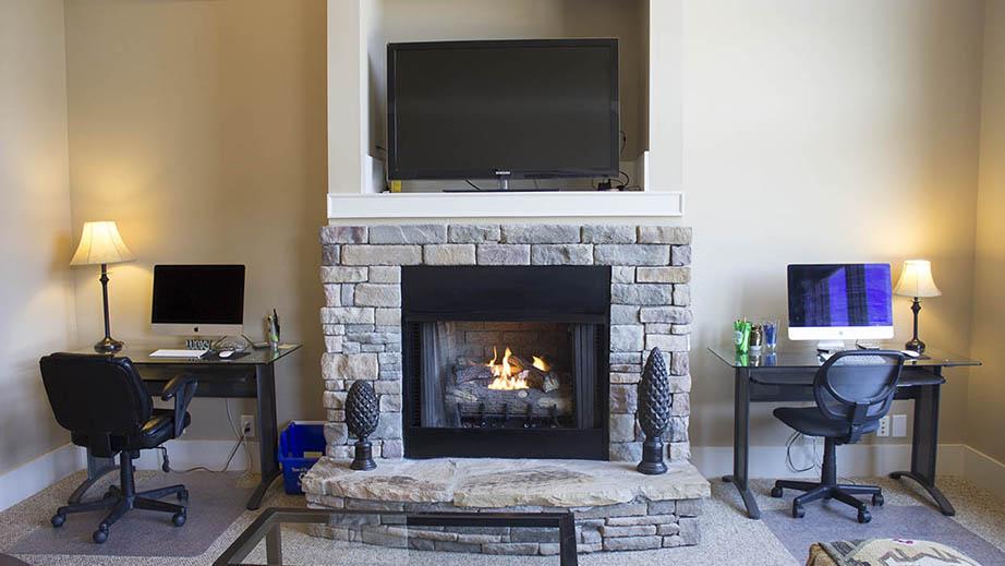 Living Area/Fireplace